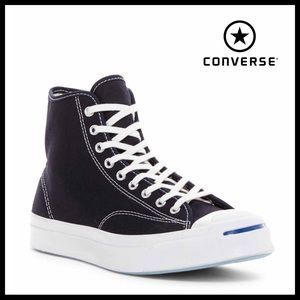 CONVERSE JACK PURCELL HIGH TOPS SNEAKERS